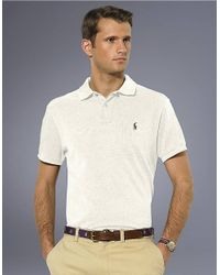 Polo Ralph Lauren | Natural Classic-fit Cotton Mesh Polo for Men | Lyst