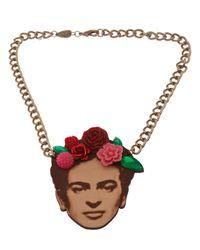 Tatty Devine | Multicolor Frida Necklace | Lyst
