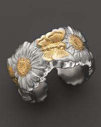 Buccellati | Metallic Butterfly Daisy Ring | Lyst