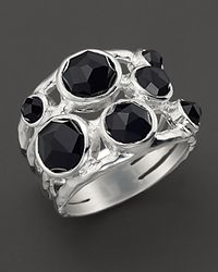Ippolita - Sterling Silver Rock Candy Constellation Ring In Black Onyx - Lyst