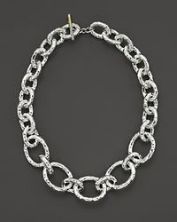 "Ippolita - Metallic Sterling Silver ""bastille"" Chain Necklace - Lyst"