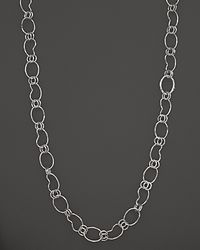 Ippolita | Metallic Sterling Silver Long Kidney Chain, 37.5"