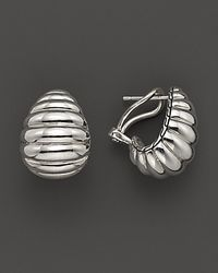 John Hardy | Metallic Bedeg Sterling Silver Buddha Belly Earrings | Lyst