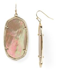 Kendra Scott | Brown Danielle Earrings | Lyst