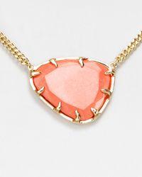 Kendra Scott - Metallic Merritt Reversible Pendant Necklace 18 - Lyst