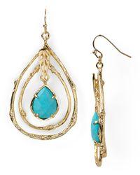 Kendra Scott - Blue Cypress Earrings - Lyst