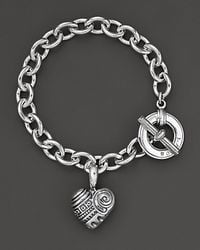 Lagos | Metallic Heart Of Philadelphia Charm Bracelet | Lyst
