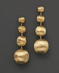 "Marco Bicego | Yellow ""africa"" Bead Drop Earrings 