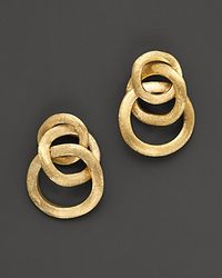 Marco Bicego | Jaipur 18 K Yellow Gold Loop Earrings | Lyst