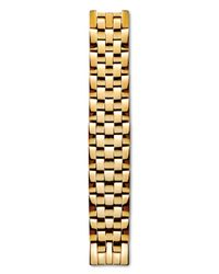 Philip Stein - Yellow Mini Gold Plated Five Link Watch Bracelet - Lyst