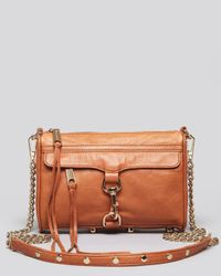 Rebecca Minkoff | Brown Crossbody - Mini Mac | Lyst