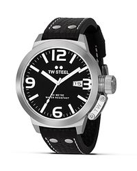 TW Steel | Metallic Canteen Stainless Steel Watch, 50mm for Men | Lyst