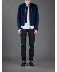 Acne | Blue Cusack Biker Jacket for Men | Lyst