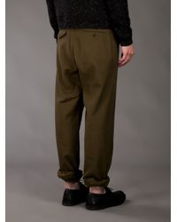 Adam Kimmel - Green Northwest Twill Trouser for Men - Lyst