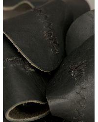 Ann Demeulemeester - Black Large Flower Sirio Brooch - Lyst