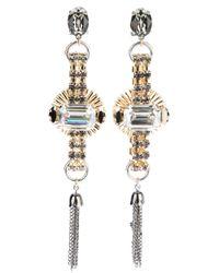 Anton Heunis   Metallic Tassel Earrings   Lyst