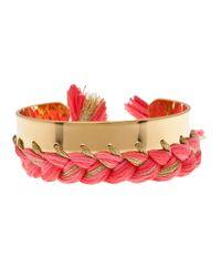 Aurelie Bidermann - Pink Copacabana Bracelet - Lyst