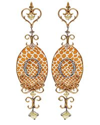 Bochic - Orange Icon Earring - Lyst