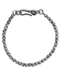 Bottega Veneta | Metallic Beaded Bracelet for Men | Lyst