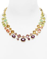 Carolee | Multicolor Dropoff Necklace 18 | Lyst