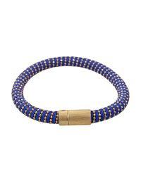 Carolina Bucci - Blue Cobalt Twister Band Bracelet - Lyst