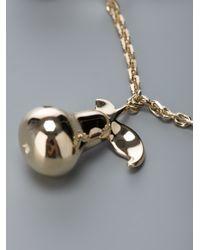 Chloé - Metallic Charm Bracelet - Lyst
