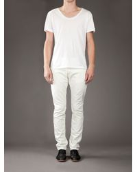 Closed - White Straight-cut Jeans for Men - Lyst