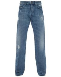 Diesel Black Gold | Blue Worn Jean for Men | Lyst