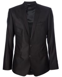Dolce & Gabbana | Black Slim Fit Suit for Men | Lyst