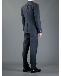 Dolce & Gabbana Gray 'martini' Suit Jacket for men