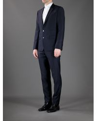Dolce & Gabbana - Blue Martini Suit for Men - Lyst