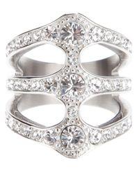 Dyrberg/Kern - Metallic Robinia Ring - Lyst