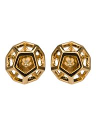 Eddie Borgo | Metallic Caged Nova Stud Earrings | Lyst