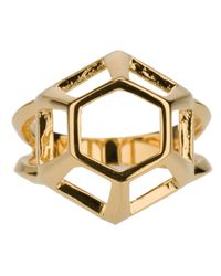 Eddie Borgo - Metallic Lattice Ring - Lyst