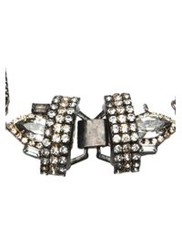 Erickson Beamon - Metallic Cluster Necklace - Lyst