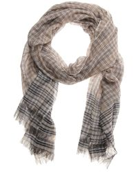 Faliero Sarti | Brown Kenzy Cotton Silk Scarf for Men | Lyst