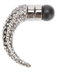 Givenchy | Metallic Horn Earring | Lyst