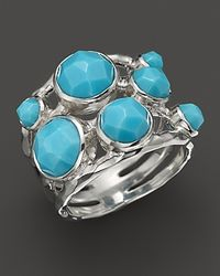 Ippolita - Metallic Sterling Silver Constellation Ring In Turquoise - Lyst