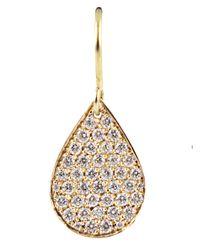 Irene Neuwirth - Pink Diamond Pear Shaped Drop Earrings - Lyst