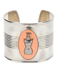 Jean Paul Gaultier | Metallic Perfume Cuff | Lyst