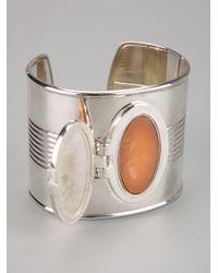 Jean Paul Gaultier - Metallic Perfume Cuff - Lyst