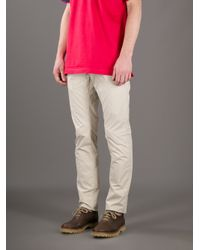 Kiton | Natural Classic Chinos for Men | Lyst