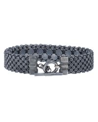 Laura B | Gray Casablanca Bracelet for Men | Lyst