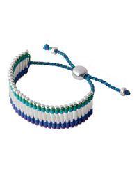 Links of London - Green Friendship Bracelet - Lyst