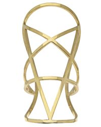 Pamela Love | Metallic Pentagram Cuff | Lyst