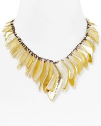 Robert Lee Morris | Metallic Ivory Shell Necklace | Lyst