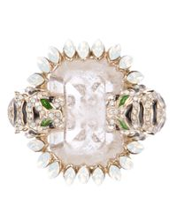 Roberto Cavalli - Pink Cocktail Ring - Lyst