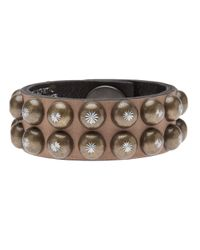 Ronald Pineau | Brown Studded Cuff | Lyst