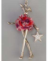 Servane Gaxotte - Metallic Rabbit Doll Pendant - Lyst