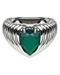 Shaun Leane - Green Bound Onyx Ring - Lyst